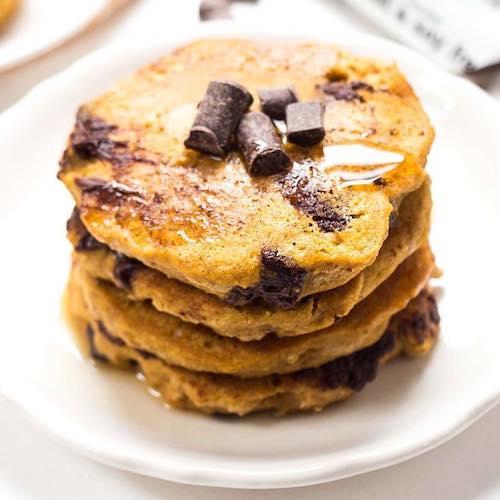 Chocolate Chip Pancakes - Enjoy Life - Paleo Friendly - Paleo Foundation