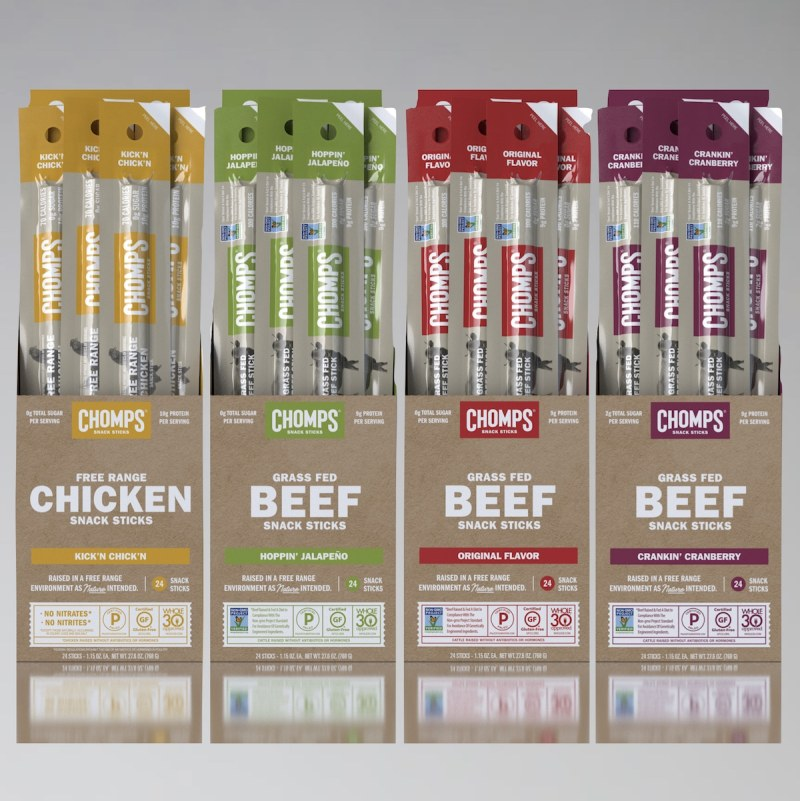 Chomps Snack Sticks + Venison - Chomps - Certified Paleo - Paleo Foundation