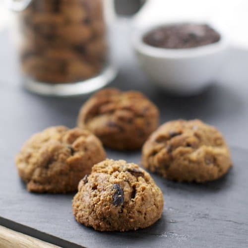 Cocoa Nib Cookies - Keep It Real Food CO - Certified Paleo - Paleo Foundation