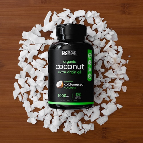 Extra Virgin Coconut Oil 2 - Sports Research - Certified Paleo - Paleo Foundation