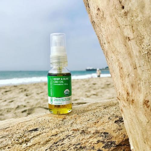 Hemp & OlivePure CBD Oil - Green Gorilla - Certified Paleo, KETO Certified - Paleo Foundation