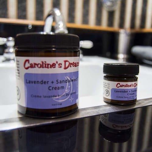 Lavender + Sandalwood Cream - Caroline's Dream - Certified Paleo - Paleo Foundation