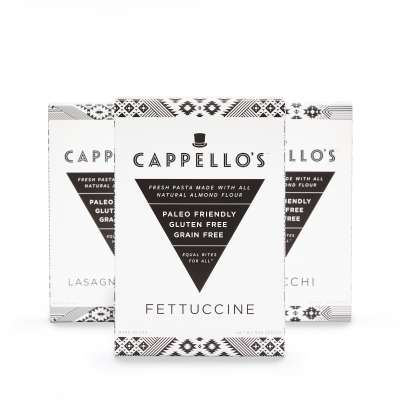 Lineup Fettucine 1st - Cappello's - Certified Paleo - Paleo Foundation