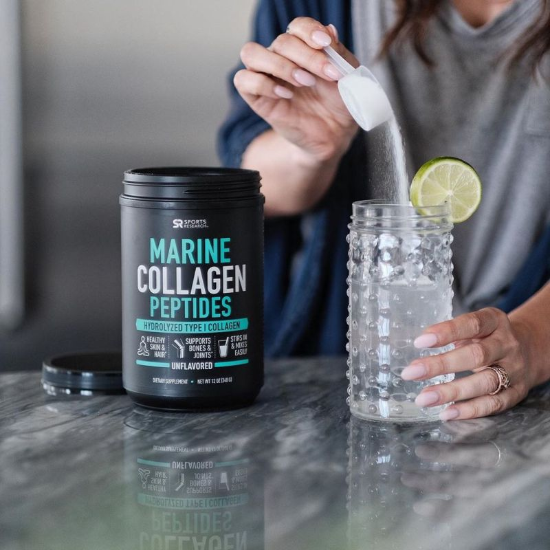 Marine Collagen Peptides - Sports Research - KETO Certified by the Paleo Foundation