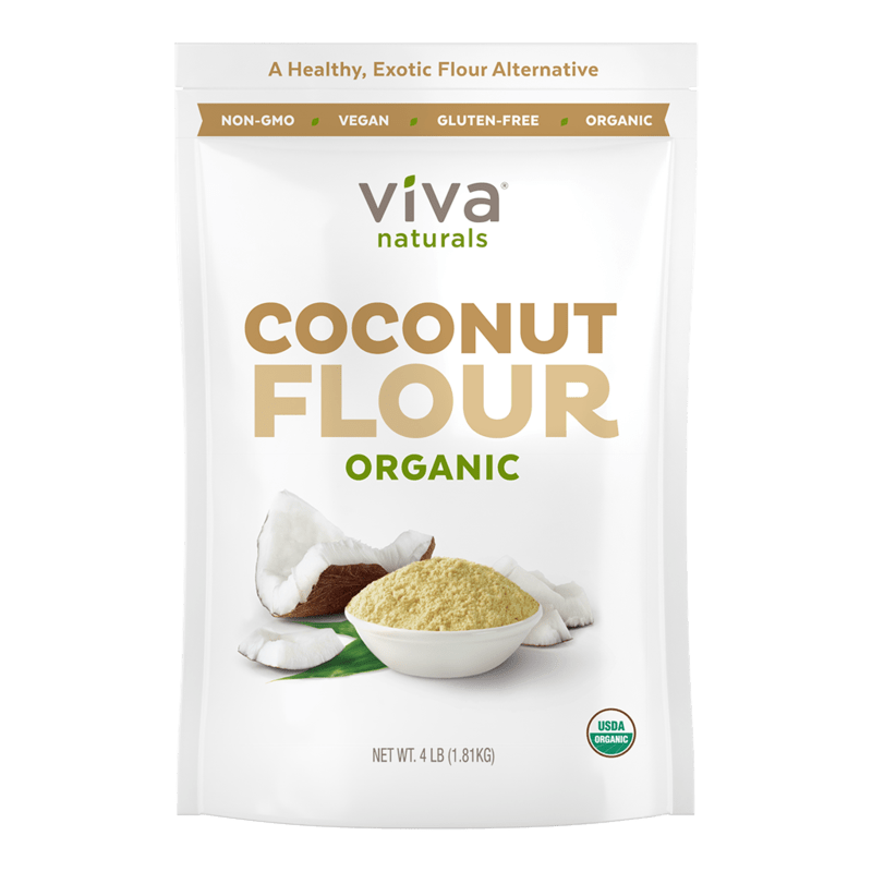 Organic Coconut Flour - Viva Naturals - Certified Paleo by the Paleo Foundation
