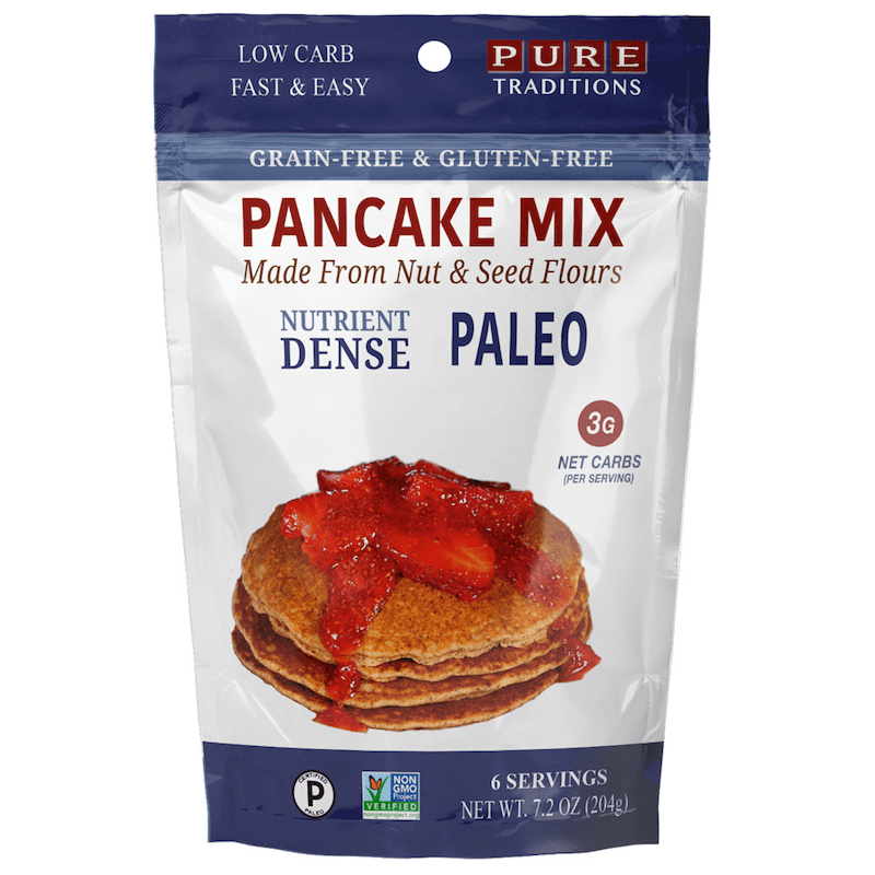 Pancake Mix - Pure Traditions - Certified Paleo by the Paleo Foundation