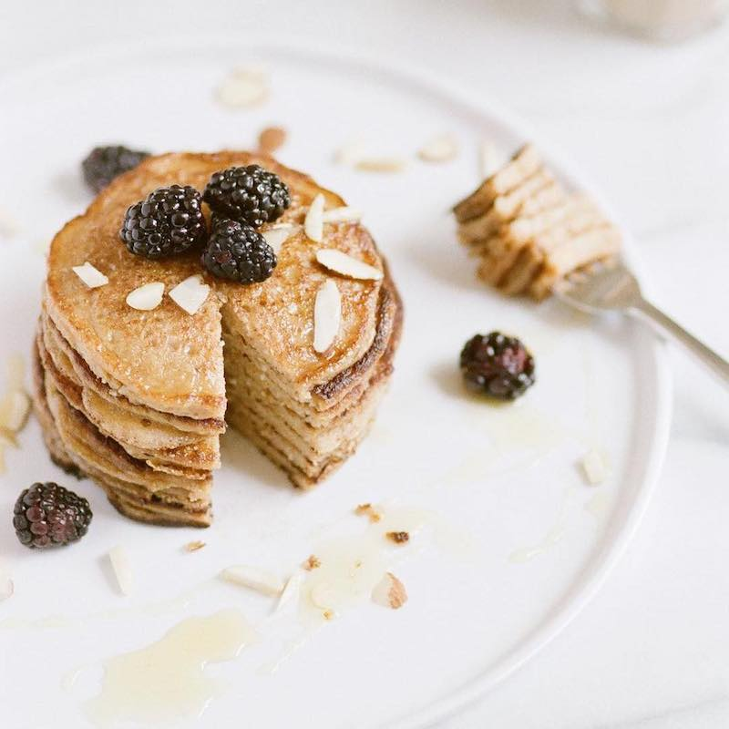 Pancakes made with Organic Coconut Flour - Viva Naturals - Certified Paleo by the Paleo Foundation