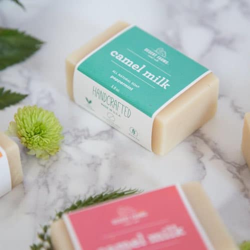 Peppermint Camel Milk Soap - Desert Farms - Paleo Approved - Paleo Foundation