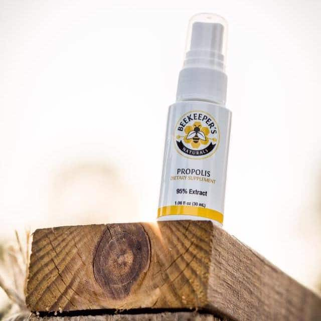 Propolis Spray 1 - Beekeeper's Naturals - Certified Paleo - Paleo Foundation