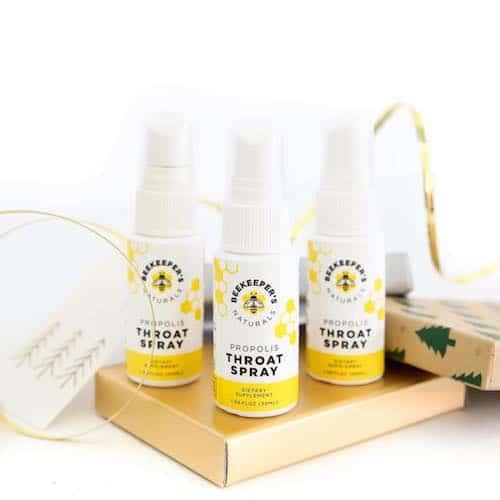 Propolis Throat Spray - Beekeeper's Naturals - Certified Paleo - Paleo Foundation - Paleo Diet