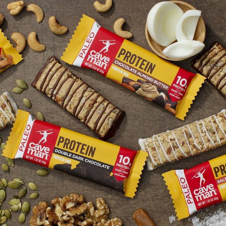 Protein Bars - Caveman Foods - Certified Paleo Friendly by the Paleo Foundation