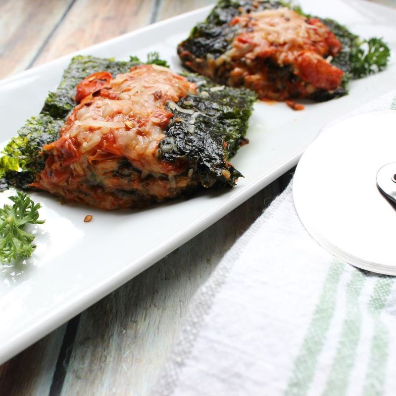 SeaSnax lasagna - Certified Paleo, PaleoVegan, & KETO Certified by the Paleo Foundation