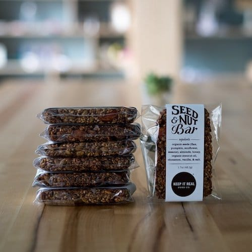 Seed + Nut Bars 1 - Keep It Real Food CO - Certified Paleo - Paleo Foundation