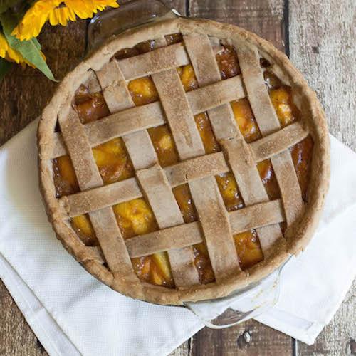 Otto's Cassava Spiced Peach Pie by Mars - Otto's Cassava Flour - Certifed Paleo, Paleo Vegan - Paleo Foundation
