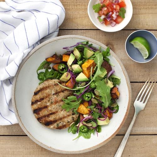 Tex Mex Salad - Tribalí Foods Organic 100% Grass-fed Beef - Certified Paleo - Paleo Foundation