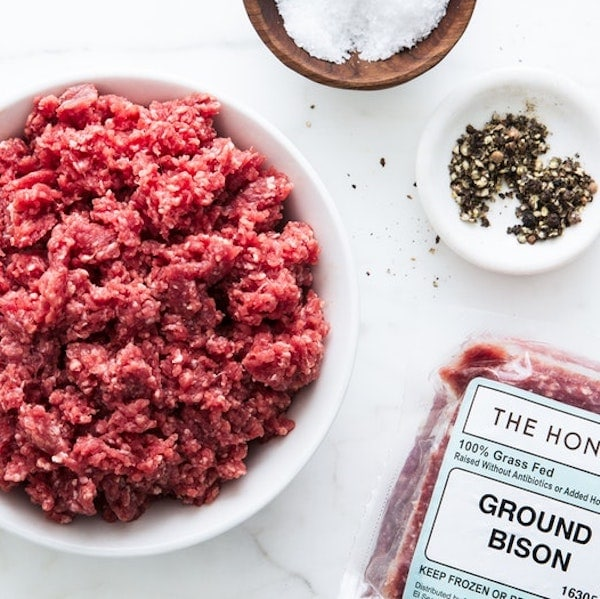 The Honest Bison Certified Paleo Approved Grass Fed Bison
