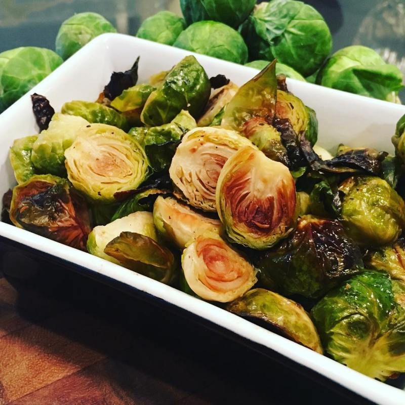 Bacon Fat Brussels Sprouts - Gourmaleo was founded to provide a gourmet meal delivery option consisting of healthy, real food ingredients with integrity. We strive to provide clients with a convenient option while meeting the highest standards of quality in our proteins and produce. #certifiedpaleo #paleo
