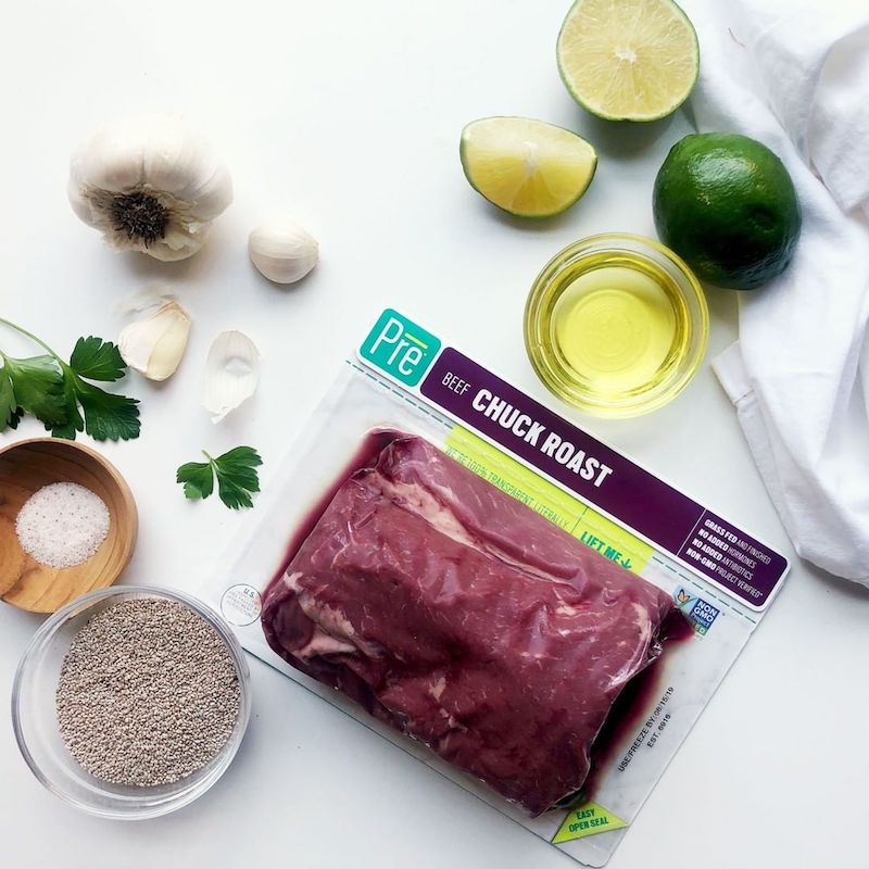 Chuck Roast 24 oz. Beef Roast 2 - Pre Brands - Certified Paleo, KETO Certified by the Paleo Foundation