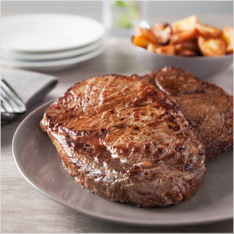 Ribeye 10 oz. Beef Steaks - Pre Brands - Certified Paleo, KETO Certified by the Paleo Foundation