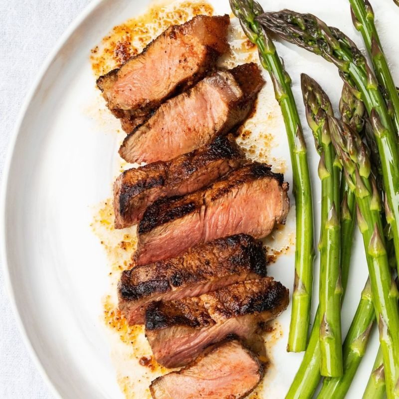 Steak and Asparagus - Pre Brands - Certified Paleo, KETO Certified by the Paleo Foundation