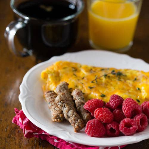 Breakfast sausage and eggs - Jones Dairy Farm - Certified Paleo - Paleo Foundation