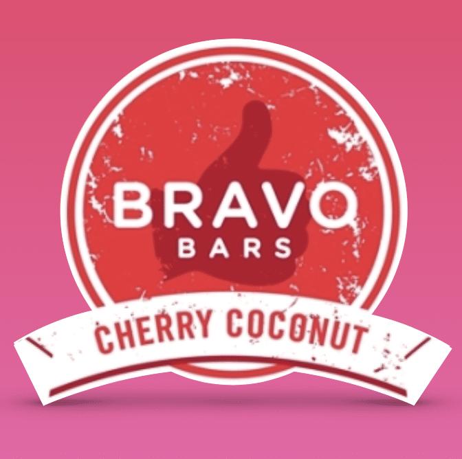 cherry coconut certified grain free certified gluten free Bravo Bars