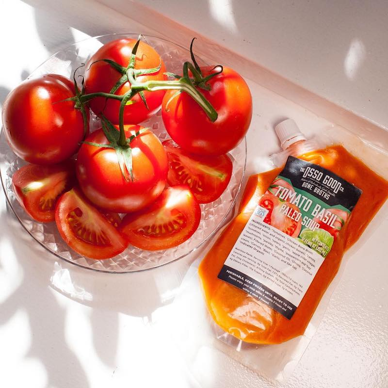Osso Good Co Tomato Basil Tomato Soup Certified Paleo Certified Grain Free Gluten Free