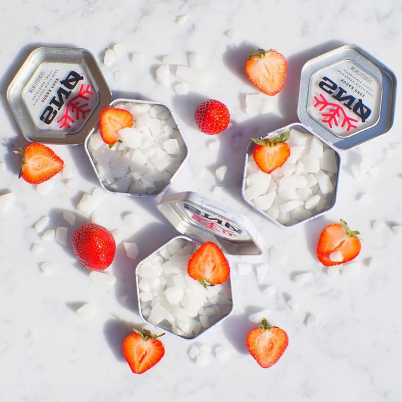 Strawberry - Snowflakes Candy - Paleo Friendly, KETO Certified by the Paleo Foundation