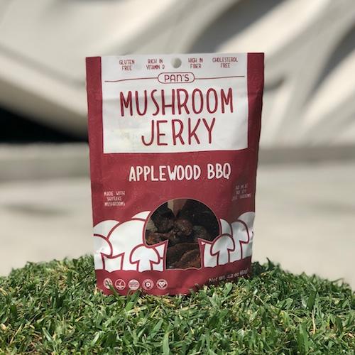 Applewood BBQ - Pan's Mushroom Jerky - Paleo Friendly, PaleoVegan - Paleo Foundation