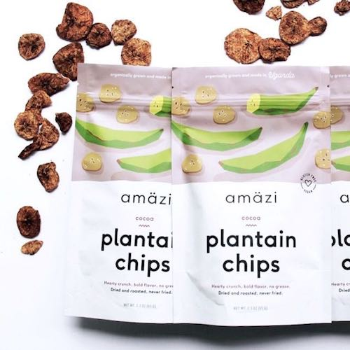 Cocoa Plantain Chips - Amazi - Certified Paleo - Paleo Foundation