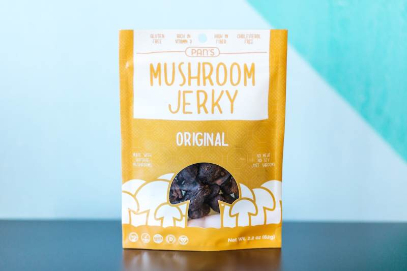 Original Mushroom Jerky - Pan's Mushroom Jerky - Certified Paleo, PaleoVegan - Paleo Foundation