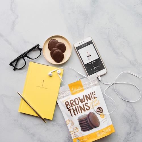 Brownie Thin Salted Caramel - Lillabee Baking - Paleo Friendly - Paleo Foundation