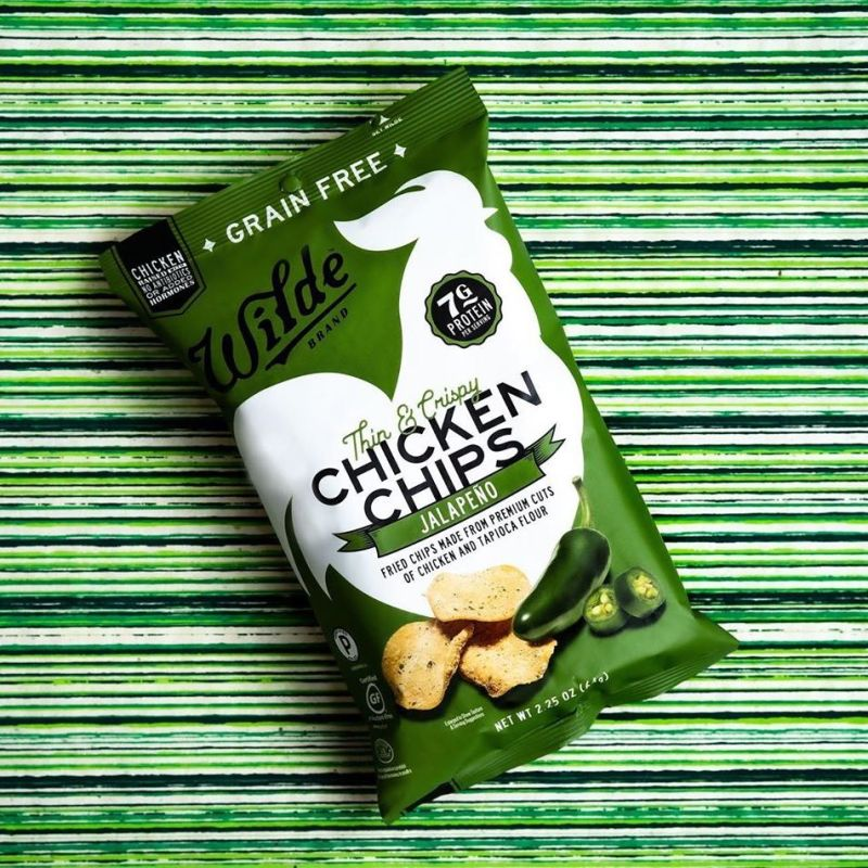 Jalapeno Chicken Chips - Wilde Brands - Certified Paleo by the Paleo Foundation