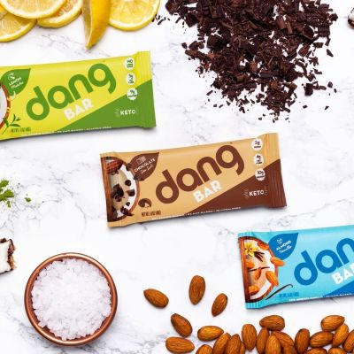 Dang Bars lineup - Dang Foods - KETO Certified - Paleo Foundation