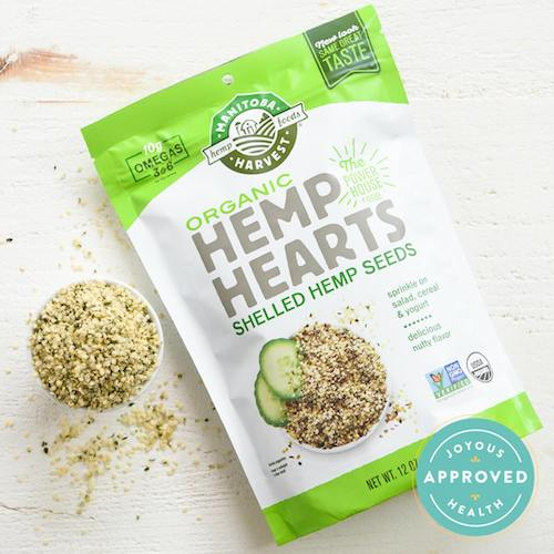 Organic Hemp Hearts - Manitoba Harvest - Certified Paleo - Paleo Foundation