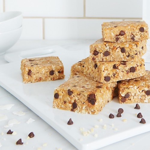 Chocolate chip bars stack - Creation Nation - Certified Paleo, Paleo Friendly, KETO Certified - Paleo Foundation