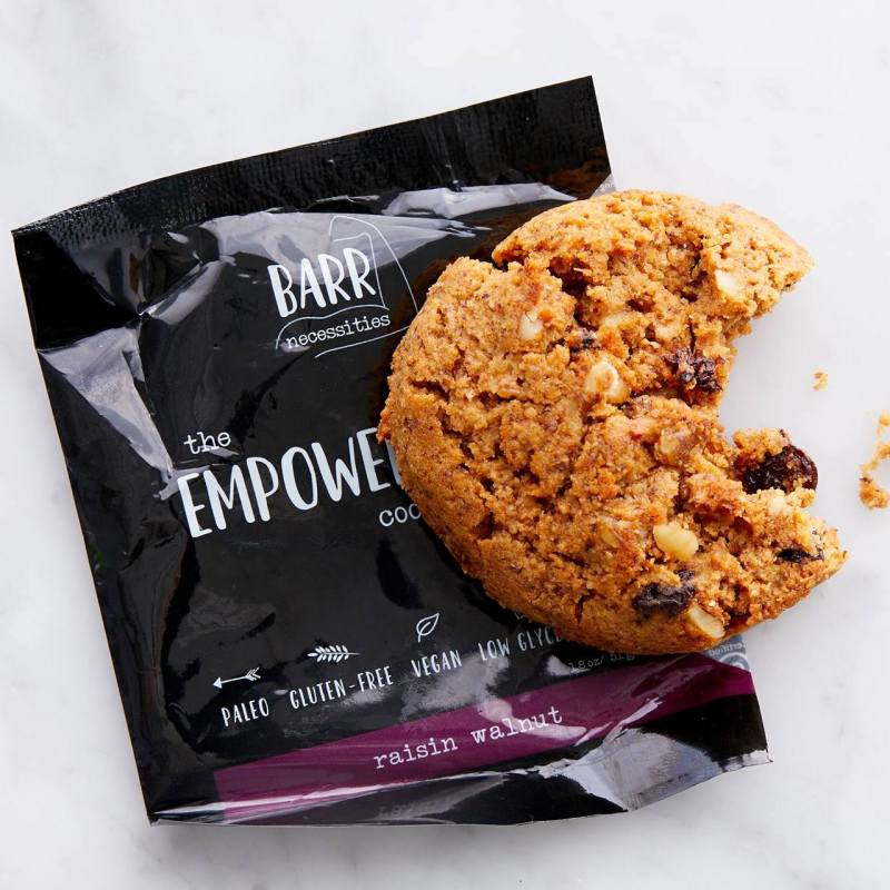 The Empowered Cookie - Raisin Walnut - Barr Necessities - Certified Paleo - Paleo Foundation
