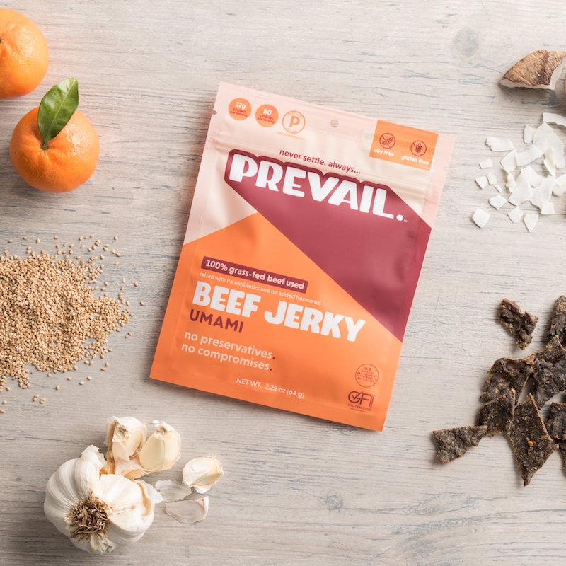 Umami Flavor - Prevail Jerky - Certified Paleo, KETO Certified - Paleo Foundation