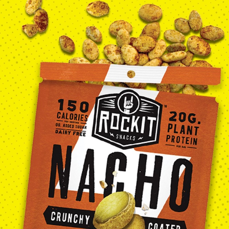 Nacho Pumpkin Seeds - RockIt Snacks - Certified Paleo, KETO Certified, Grain Free:Gluten Free Certified, PaleoVegan - Paleo Foundation