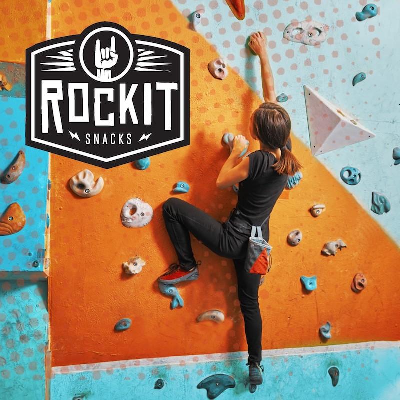 Rock Climbing with Logo - RockIt Snacks - Certified Paleo, KETO Certified, Grain Free:Gluten Free Certified, PaleoVegan - Paleo Foundation