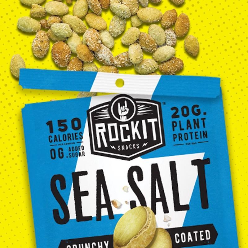 Sea Salt Pumpkin Seeds - RockIt Snacks - Certified Paleo, KETO Certified, Grain Free:Gluten Free Certified, PaleoVegan - Paleo Foundation