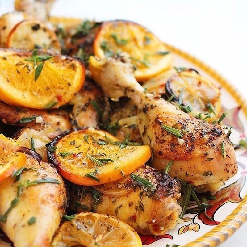 Citrus Glazed Chicken with Sugarless Sweetener - Health Garden of USA - KETO Certified by the Paleo Foundation