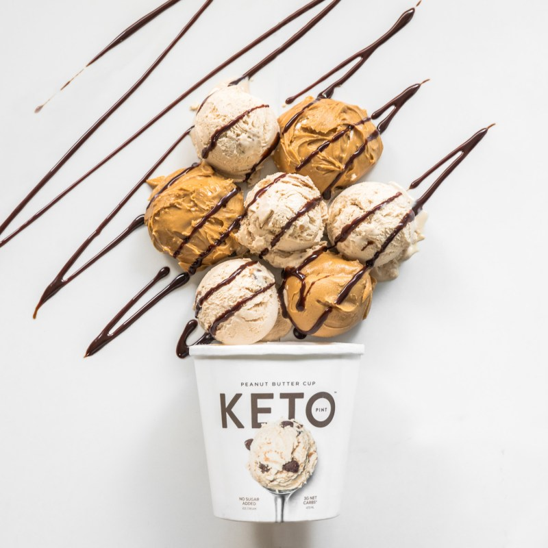 Peanut Butter Cup - Keto Pint - KETO Certified by the Paleo Foundation