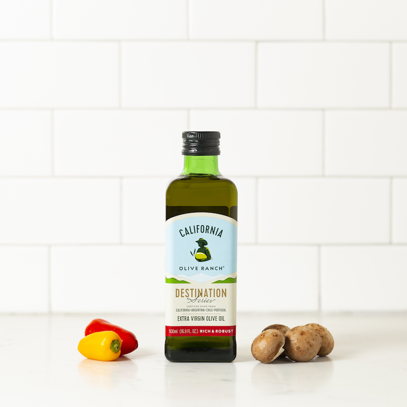 Rich & Robust Extra Virgin Olive Oil - California Olive Ranch - Certified Paleo, KETO Certified by the Paleo Foundation