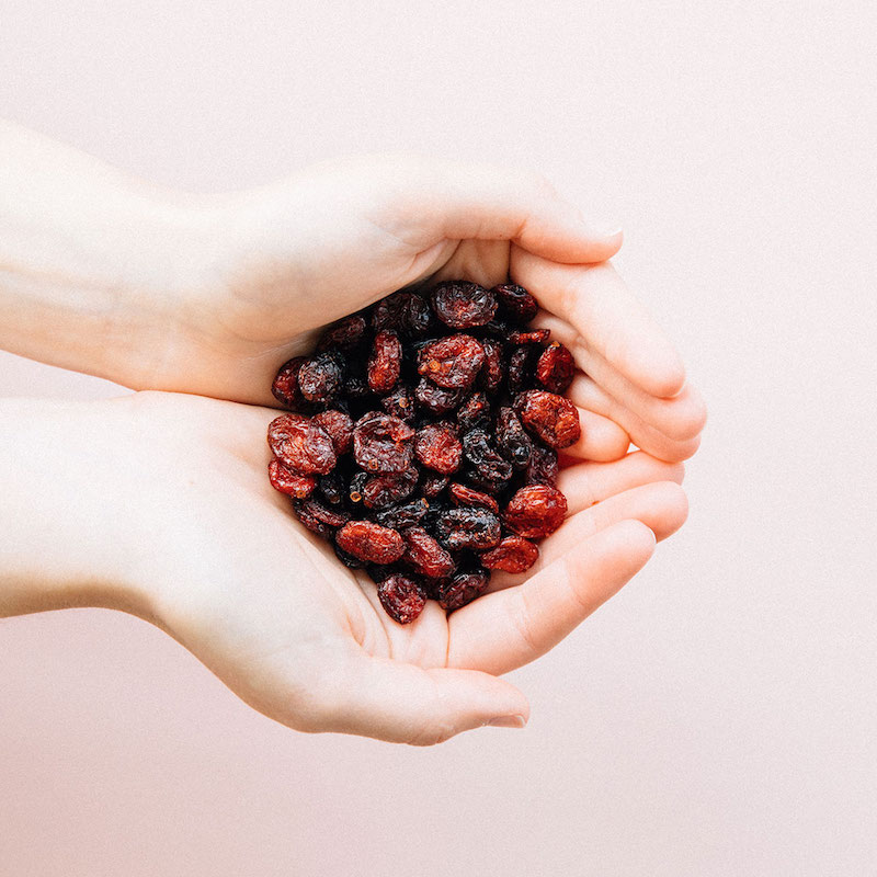 Whole & Juicy Dried Cranberries, Sweetened with Apple Juice - Patience Fruit & Co - Certified Paleo by the Paleo Foundation