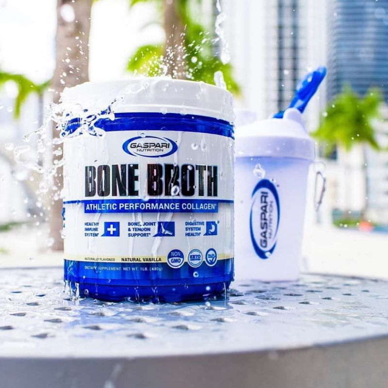 Bone Broth Collagen - Gaspari Nutrition - KETO Certified by the Paleo Foundation