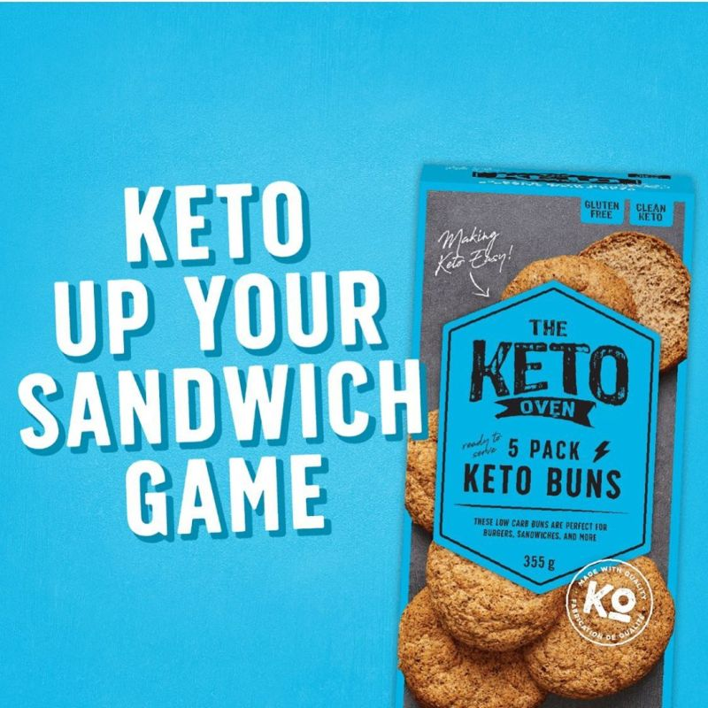 Keto Buns - The Keto Oven - KETO Certified by the Paleo Foundation