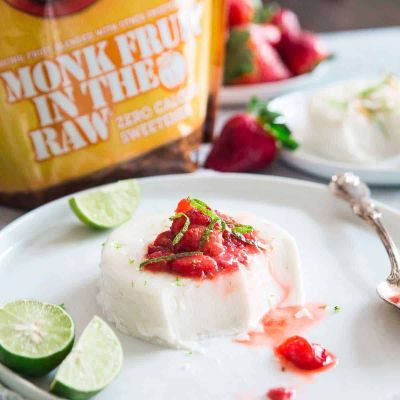 Monk Fruit In The Raw® Panna Cotta - Cumberland Packing Corp. - KETO Certified by the Paleo Foundation