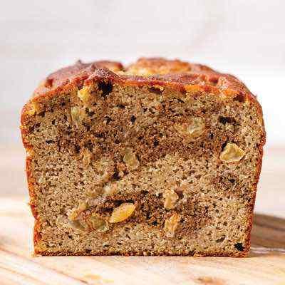 Cinnamon Swirl Paleo Banana Bread