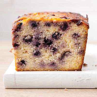 Easy Paleo Lemon Blueberry Bread